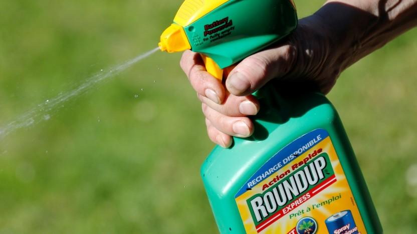 Das Herbizid Roundup enthält den umstrittenen Wirkstoff Glyphosat.