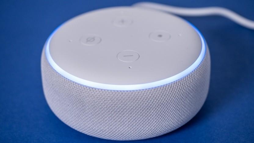 Der Echo Dot von Amazon