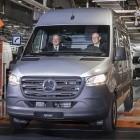 Auto: Daimler startet Serienproduktion des Elektro-Sprinters