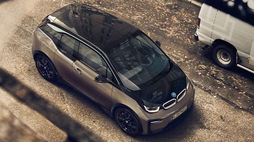 BMW i3 von oben