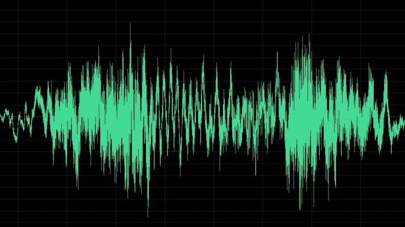 Wellenform des Fahrgeräusches
