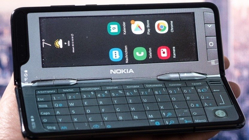 Das Samsung Galaxy Fold hat ein faltbares Display.