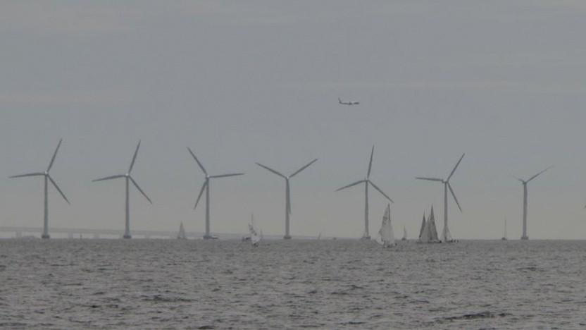 Offshore-Windpark bei Kopenhagen: Dänemark will bis 2050 klimaneutral sein.