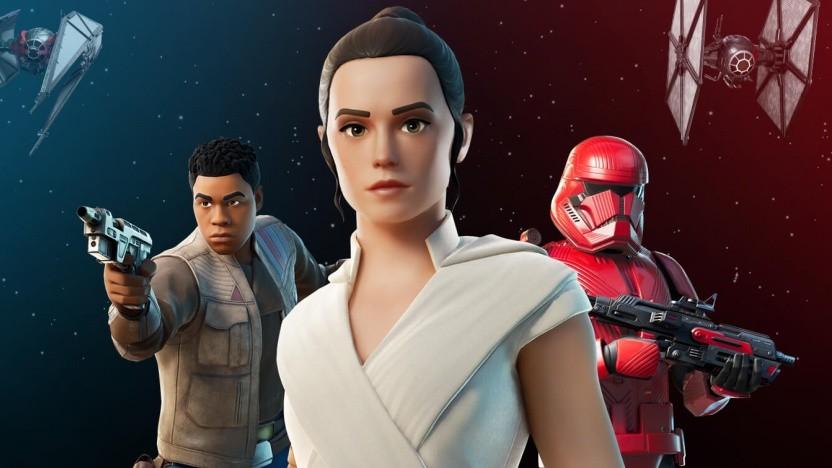 Artwork von Fortnite Star Wars