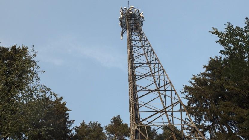 Mobilfunkstandort der Telekom