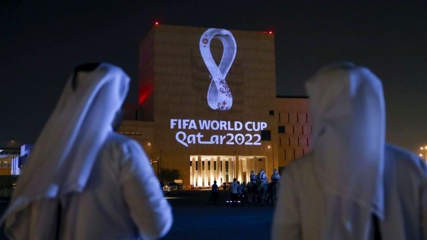 Die Fußball-WM 2022 findet in Katar statt.