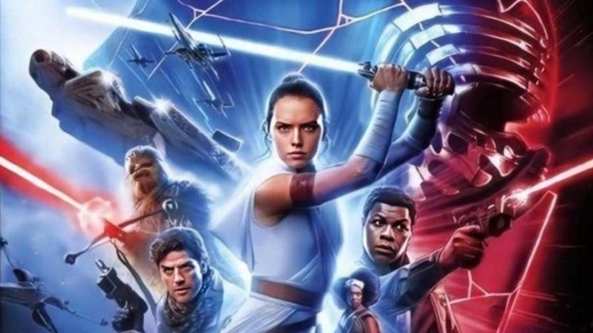 Eines von vielen Filmpostern zu Der Aufstieg Skywalkers