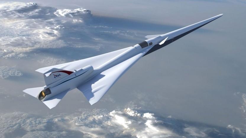 Experimentelles Flugzeug X-59: leises Geräusch statt lauter Knall