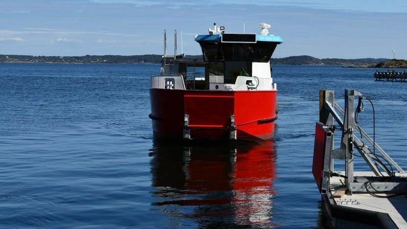 Elektrofähre in Frederikstad: 112 Sekunden laden