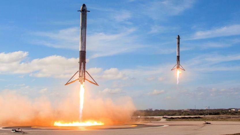 Kein Livestream aus der Raumfahrt wurde von so vielen Menschen gesehen, wie der erste Flug der Falcon Heavy.