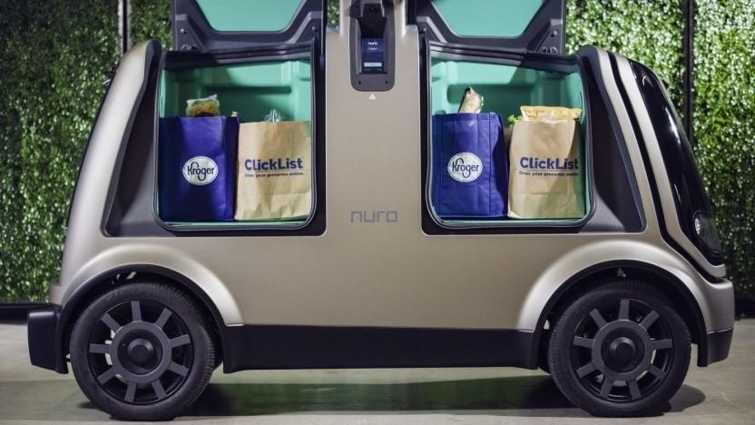 Fahrerloser Lieferwagen Nuro R1