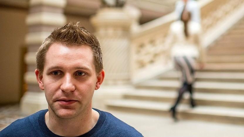 Der österreichische Datenschutzaktivist Max Schrems