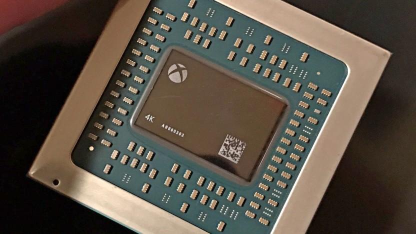 Chip der Xbox One X alias Scorpio