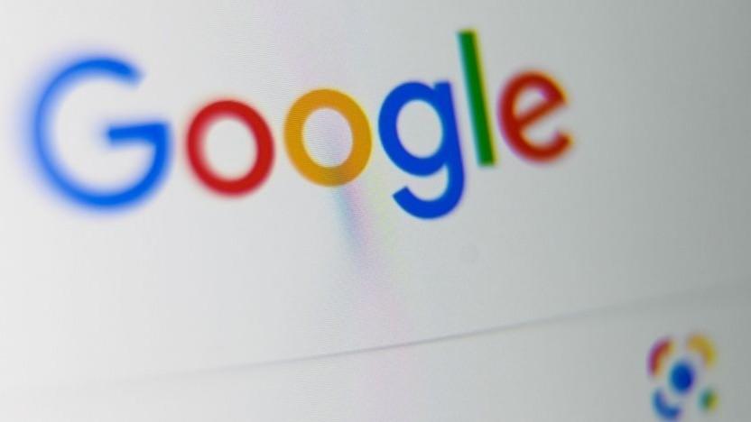Google-Suche in Frankreich
