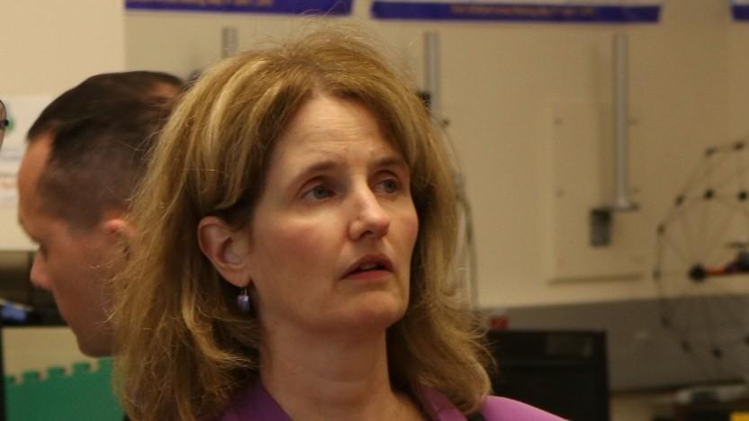 Lisa Porter vom Pentagon