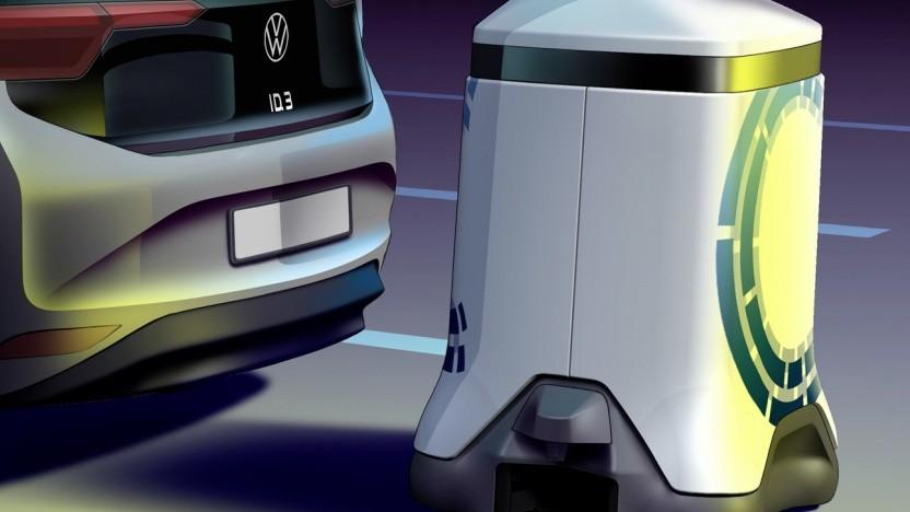 Laderoboter von Volkswagen