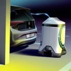 Laderoboter: Wenn der Strom zum Auto fährt