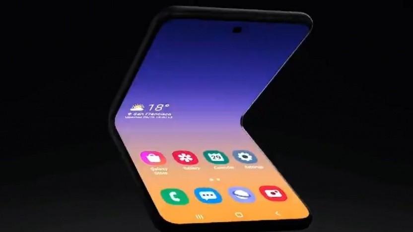 Samsungs neues faltbares Smartphone
