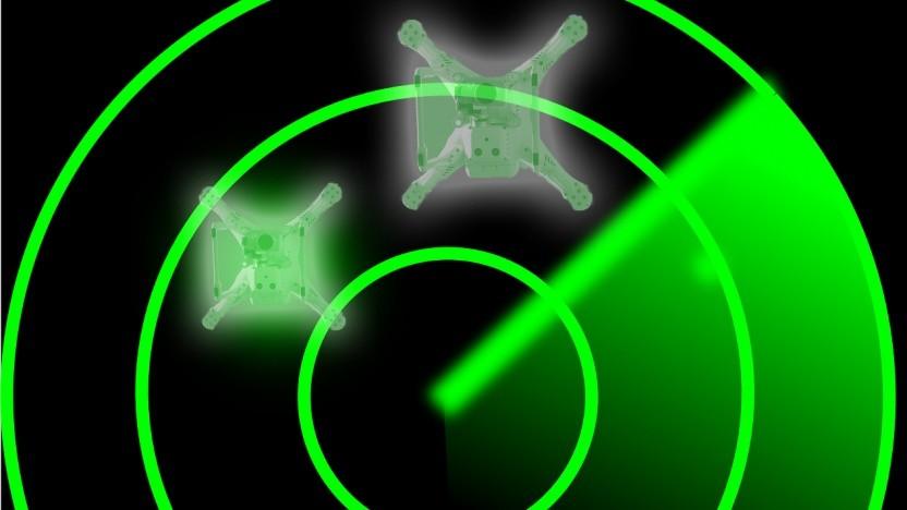 Drohnen sollen ihren Standort übermitteln.
