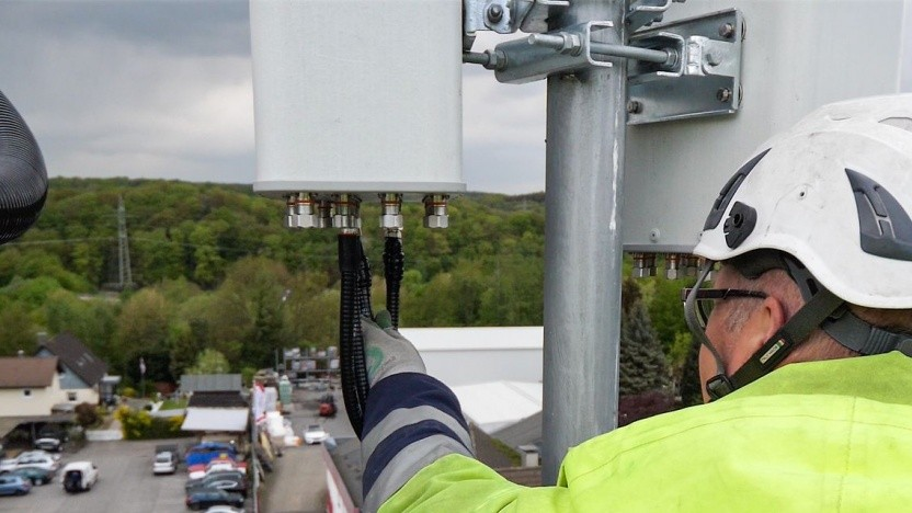 5G Aufbau der Telekom