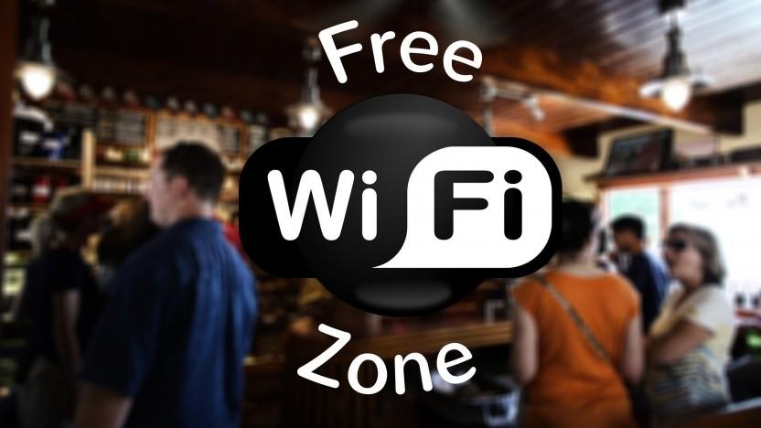 Mit den Sicherheitslücken bekommt Free Wi-Fi Zone eine ganz neue Bedeutung.