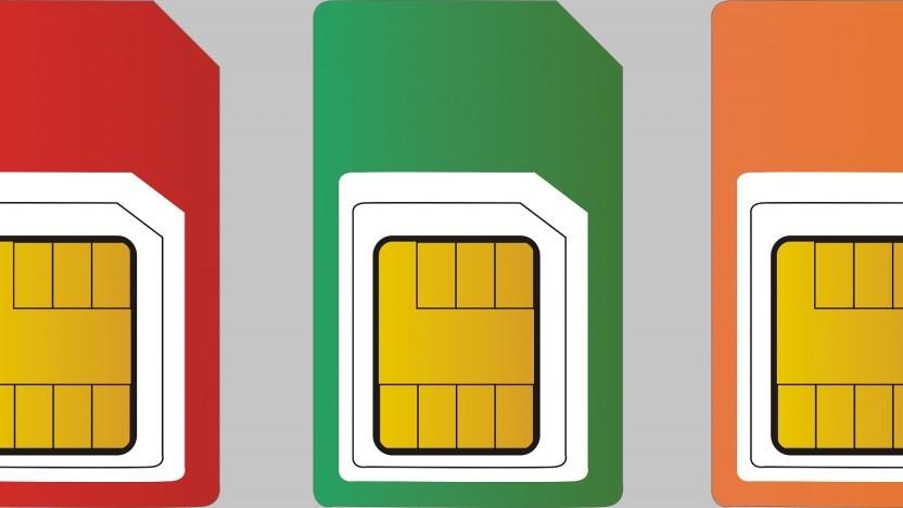 SIM-Karten können von Mobilfunkanbietern aktualisiert werden.