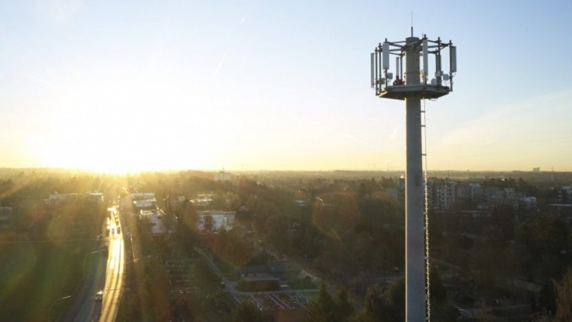 Mobilfunkausbau bei Vodafone