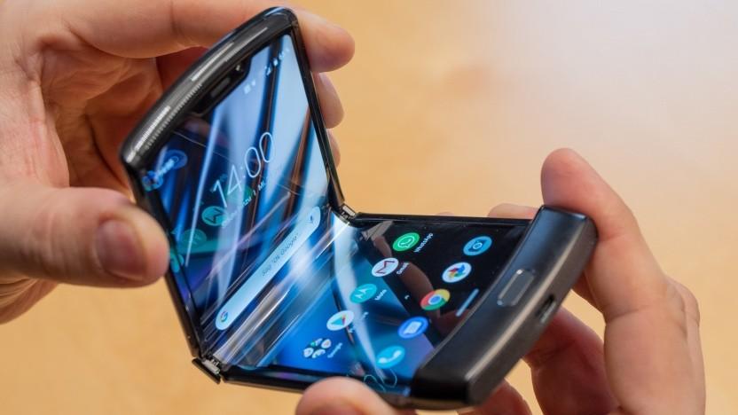 Das neue Razr von Motorola