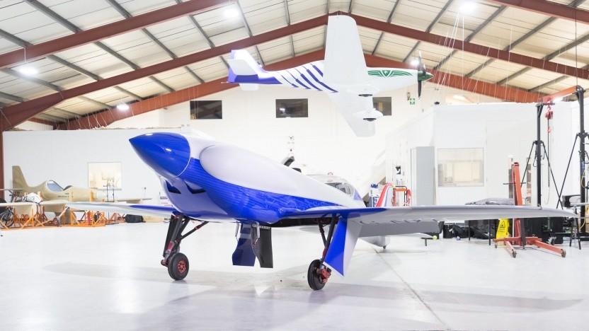 Elektroflieger Accel: genug Reichweite für einen Flug von London nach Paris
