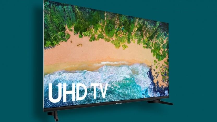 So könnte ein randloser Samung-Fernseher aussehen. (Symbolbild)