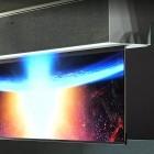 Fernseher: LGs ausrollbarer OLED-TV hängt von der Decke