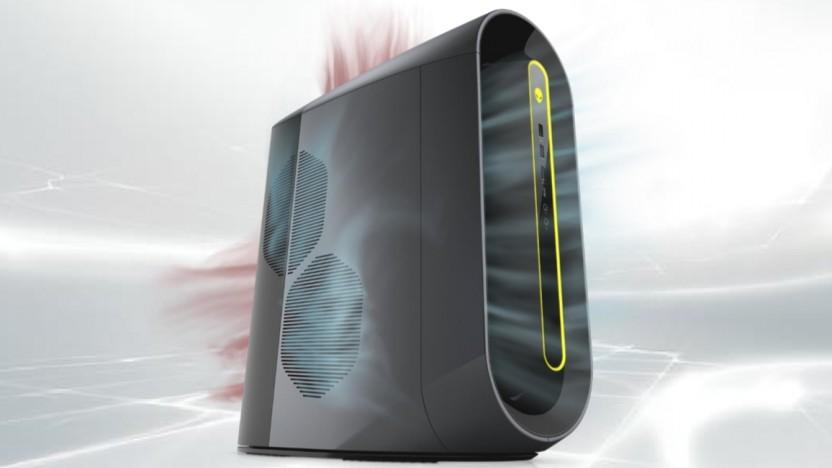 Dells Aurora-PC hat ein neues Design.