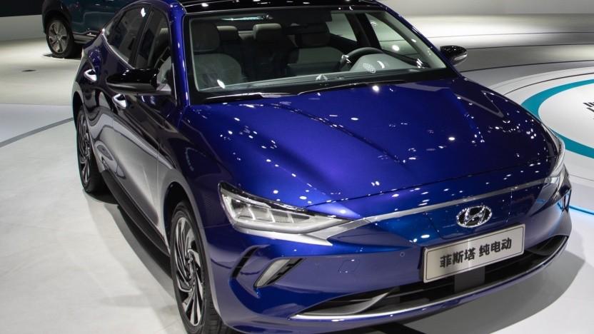 Hyundai Lafesta auf der Guangzhou Motor Show