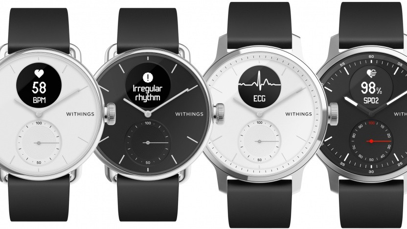 Die Scanwatch von Withings
