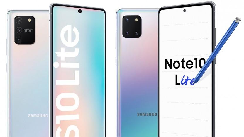 Das Galaxy S10 Lite und das Galaxy Note 10 Lite
