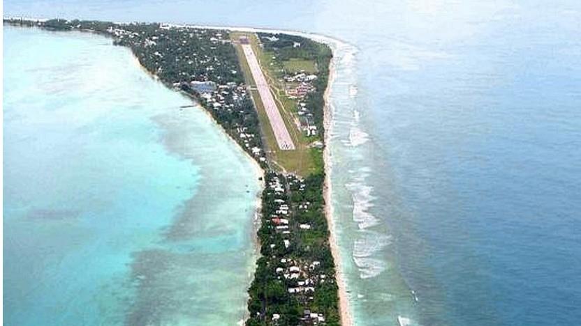 Tuvalu von oben