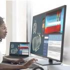 Dell Ultrasharp 43, 27 und 25: Dells 43-Zoll-Monitor wird mit USB-C angeschlossen