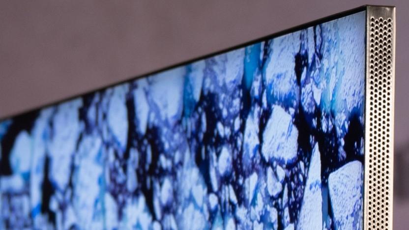 Der Q950TS von Samsung hat einen sehr schmalen Rahmen um das Display.