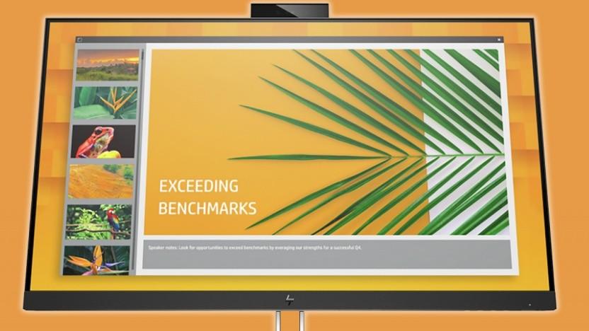 HPs Büromonitore haben mehr Anschlüsse als zunächst vermutet.