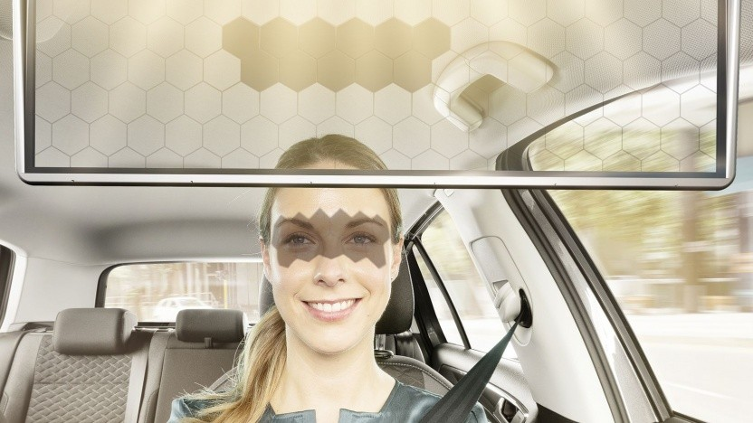 Virtual Visor: KI steuert Verdunkelung.