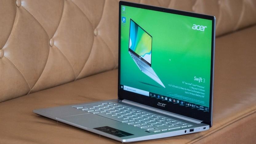 Das neue Swift 3 von Acer in der Intel-Variante mit 3-zu-2-Display