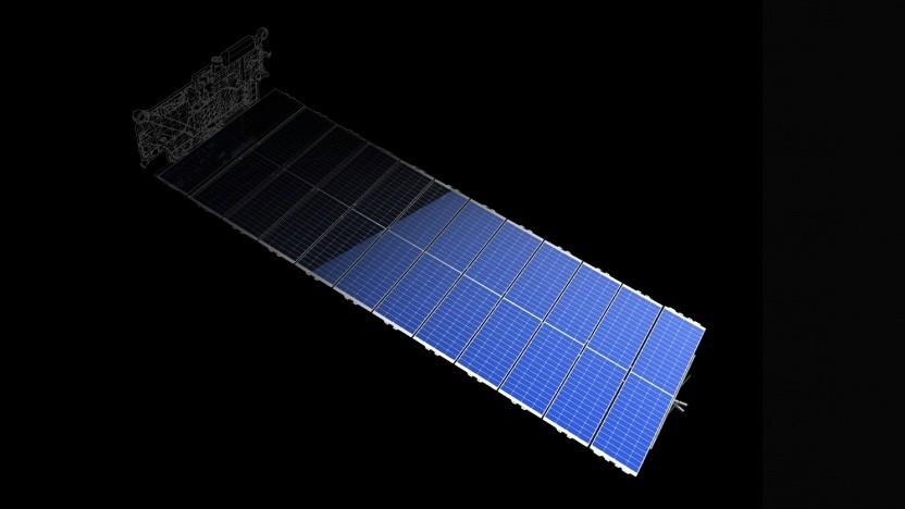 Die großen Solarpanele der Starlink-Satelliten werden weiterhin einige Monate nach dem Start sehr hell sein.
