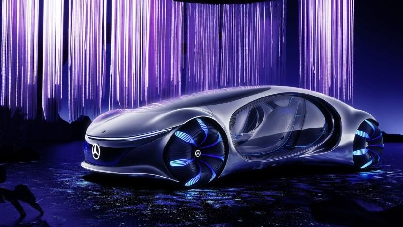 Mercedes-Konzeptfahrzeug AVTR: Ein Auto soll intuitiv zu bedienen sein.