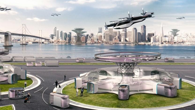 Hyundais Konzept von urbaner Mobilität: Lufttaxis für Uber Air