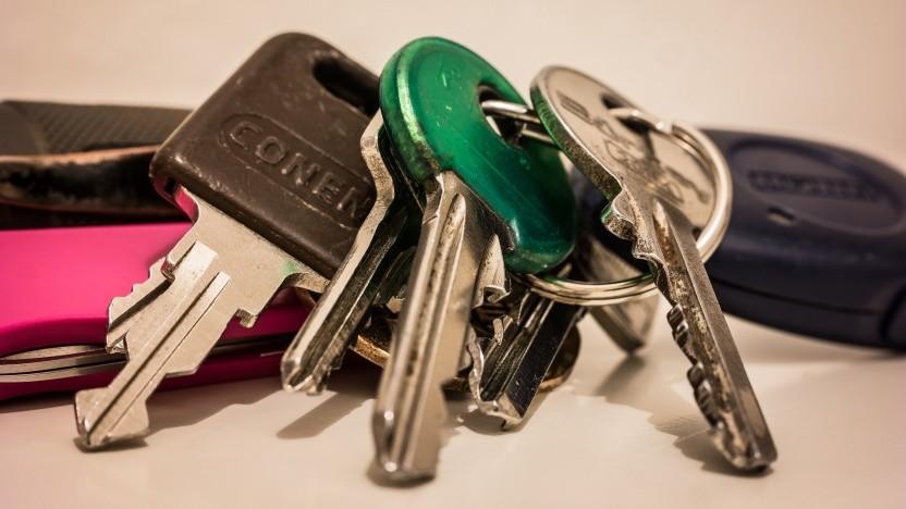 Ein analoger Schlüsselbund