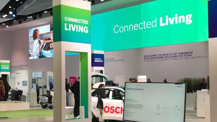 Bosch auf der CES 2020