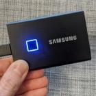 Portable SSD T7 Touch ausprobiert: Samsungs USB-3.2-Gen2-SSD wird per Finger entsperrt