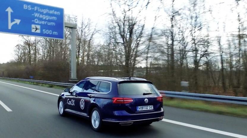 Volkswagen will das neue Testfeld in Niedersachsen ebenfalls nutzen.