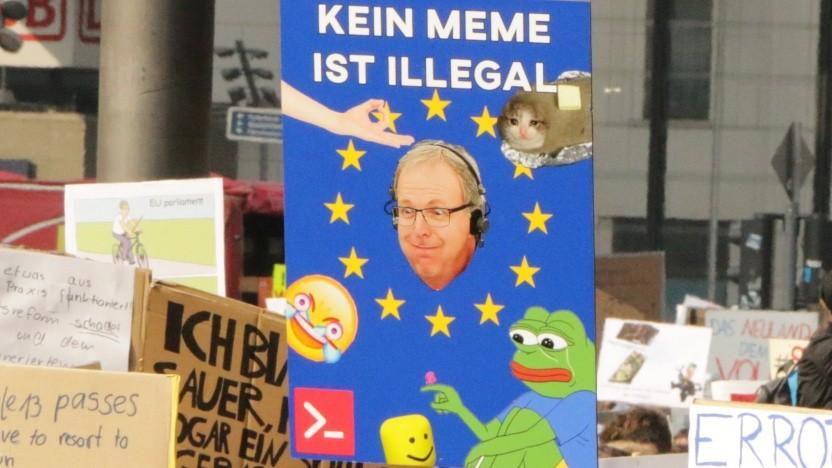 """Netzaktivisten erwarten die """"Mutter aller Schlachten um Internetrechte"""" in der EU."""