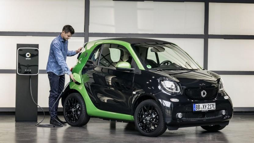 Elektro-Smart: erste rein elektrische Daimler-Marke